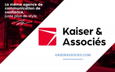 Kaiser Lachance Communications devient Kaiser & Associés