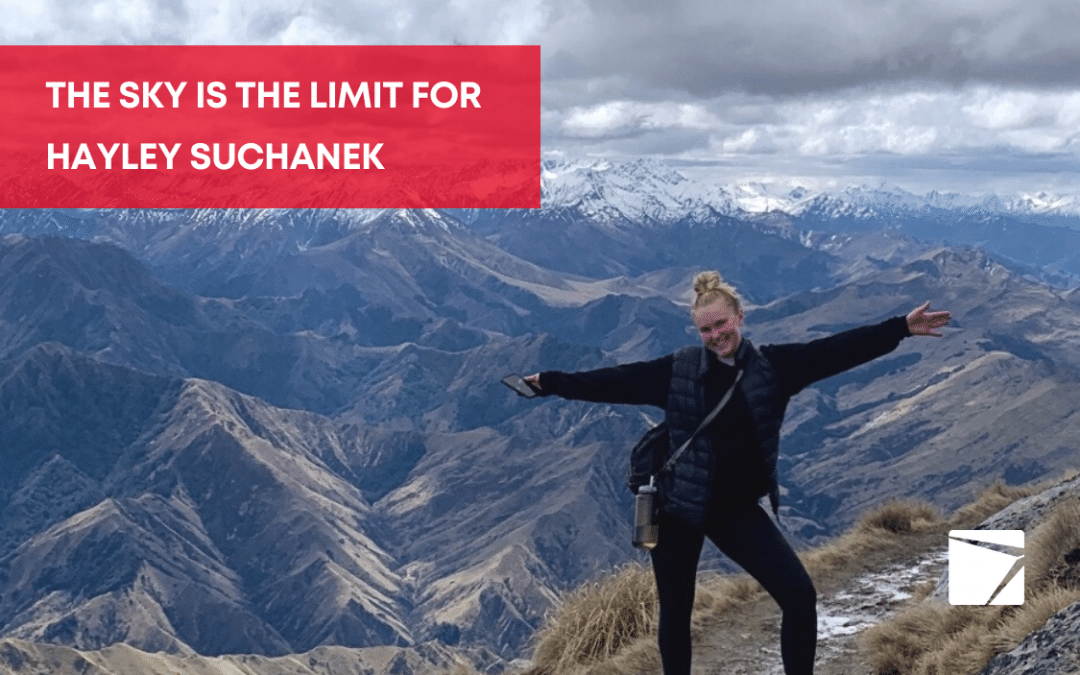 Meet the effervescent Hayley Suchanek