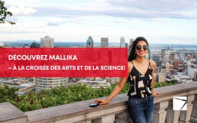 Voici Mallika : virtuose de la poésie, de la peinture, de la musique, des relations publiques et des communications