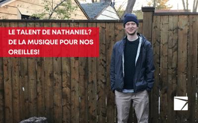 Nathaniel vibre aux sons de la musique et des RP