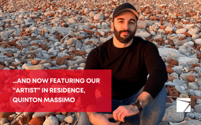 """…and now featuring our """"artist"""" in residence, Quinton Massimo"""