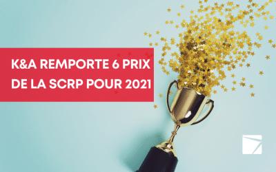Kaiser &Associéscélèbre les gagnants du prix de la SCRP Toronto 2021
