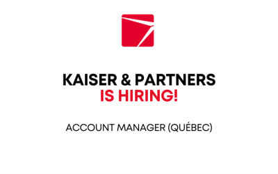 We are looking for a PR account manager in Québec!